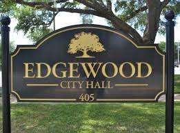 city hall sign in Edgewood, Florida